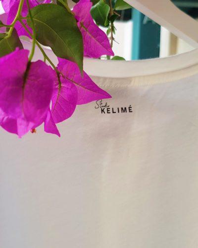 Detail logo back t-shirt Studio Kelime