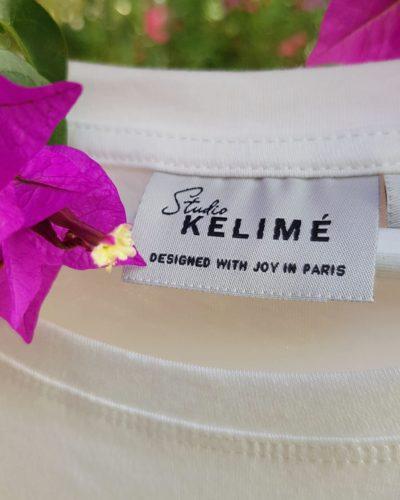 Studio Kelime T-shirts 100% bio designed with Joy in Paris