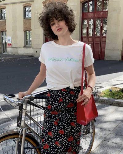 Tee-shirt Green Vibes Studio Kelimé