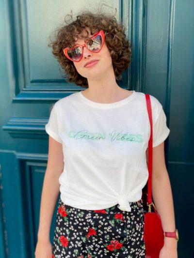 Tee-shirt Green Vibes Studio Kelime