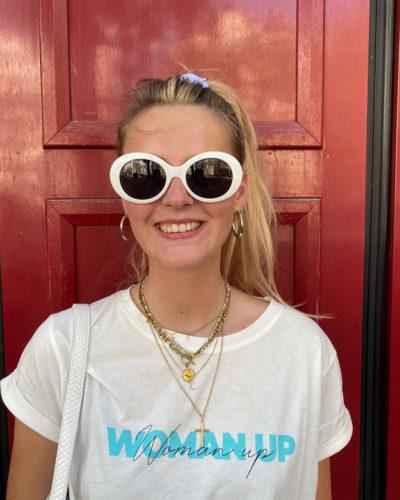 Tee-shirt Woman Up Studio Kelime