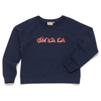 Sweat-shirt Oh La La Studio Kelimé