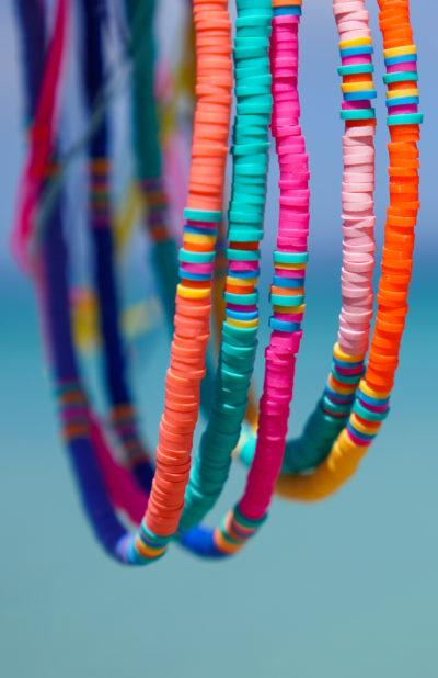 Collection colliers Stay Wild Studio Kelime Heishi beads
