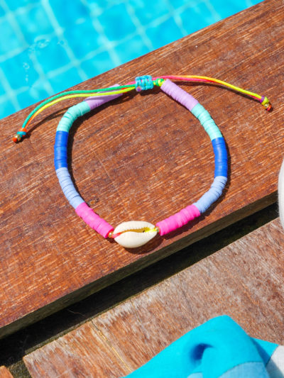 Bracelet perles heishi Studio Kelimé